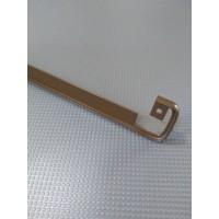 Стикова планка для стільниці LUXEFORM пряма колір RAL8014